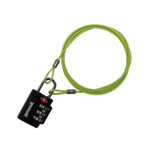 置き引き防止ワイヤーロック