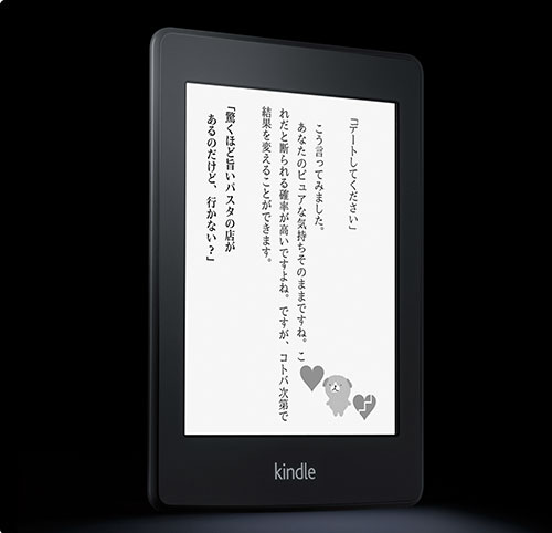 Amzon kindle paperwhite